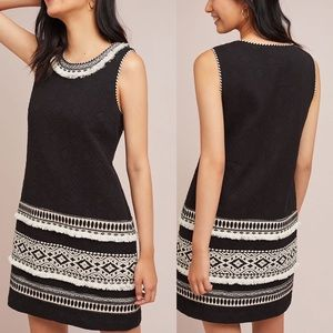NEW Anthropologie Meadow Rue Arctic Shift Dress